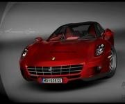 2008 Ferrari Sedan Design Concept 0