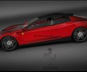 2008 Ferrari Sedan Design Concept 3