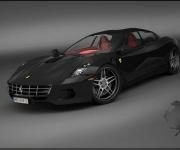 2008 Ferrari Sedan Design Concept 7