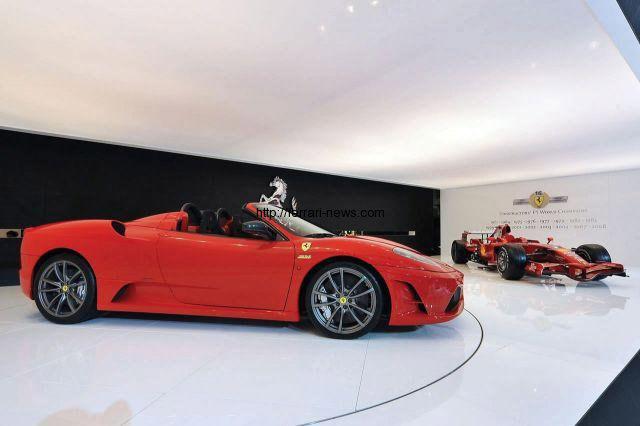 2009 Ferrari F430 Scuderia Spider 16m Bologna Debut