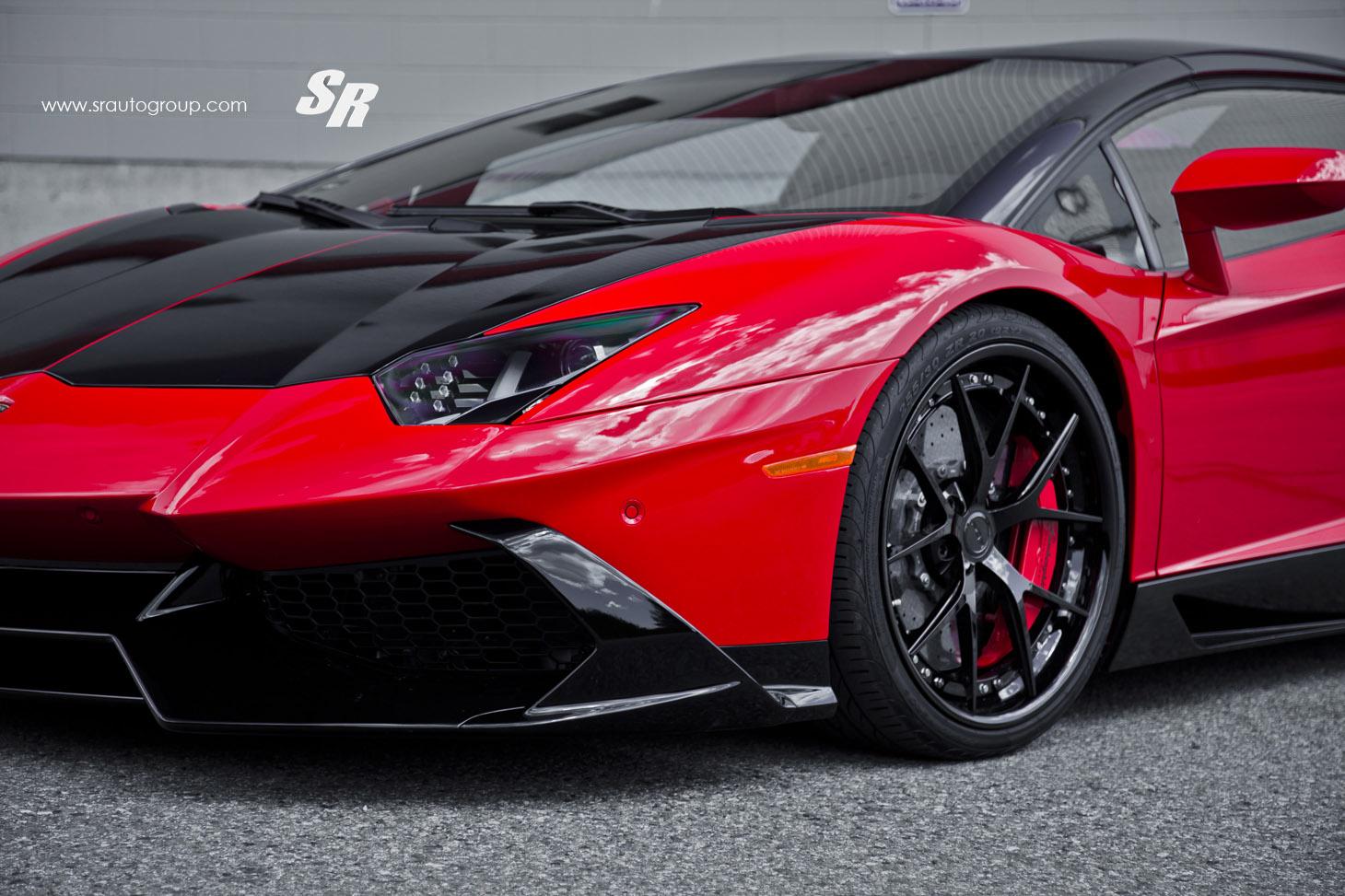Cool Paint Job On Lamborghini
