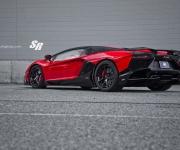 2015 SR Auto Lamborghini Aventador LP720 Red-Black 2