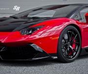 2015 SR Auto Lamborghini Aventador LP720 Red-Black 4