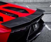 2015 SR Auto Lamborghini Aventador LP720 Red-Black 6