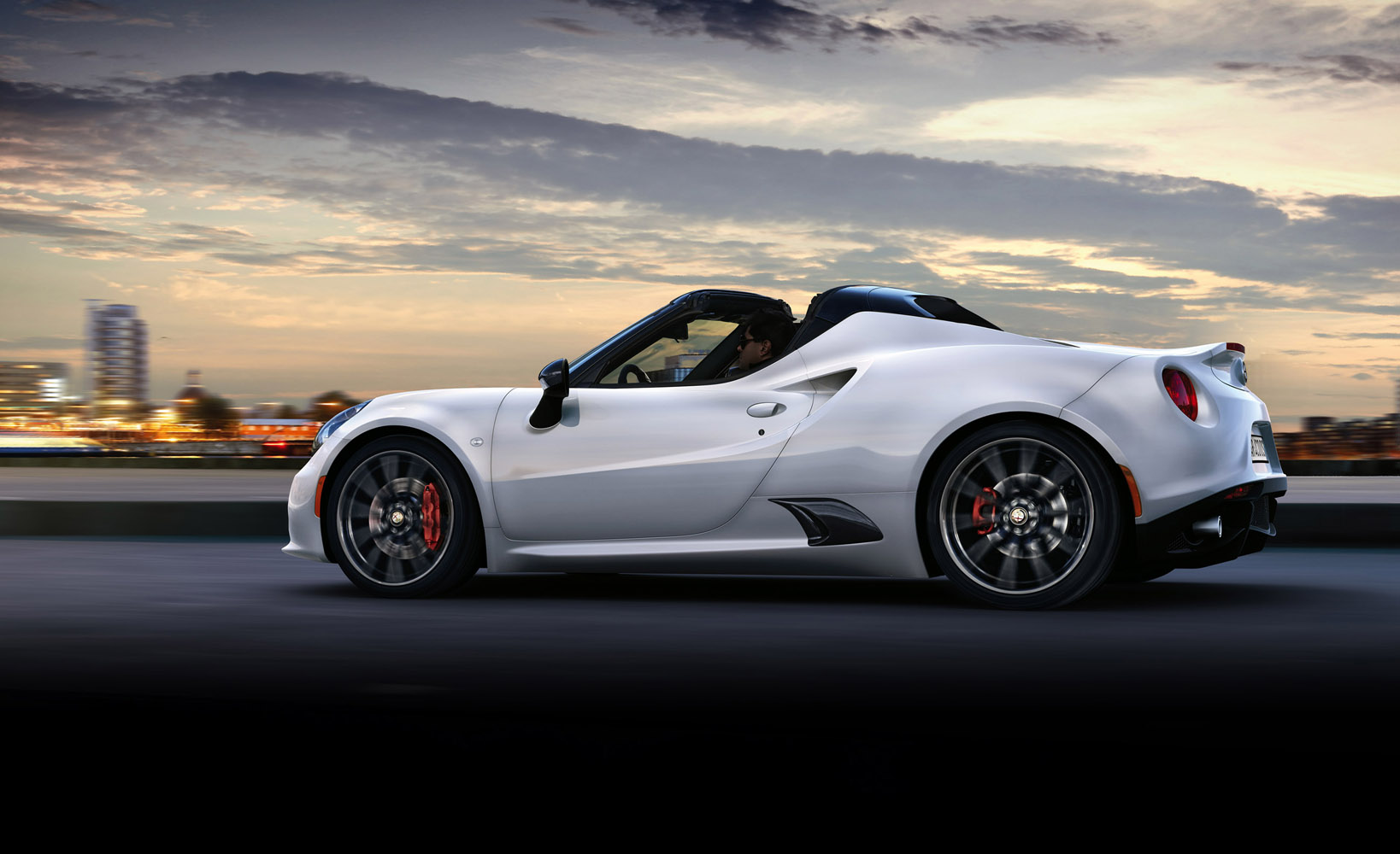 2016 alfa romeo 4c spider. Black Bedroom Furniture Sets. Home Design Ideas