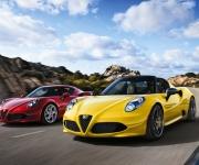 2016 Alfa Romeo 4C Spider 0