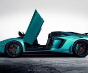 2017 Lamborghini Aventador SuperVeloce Roadster 1