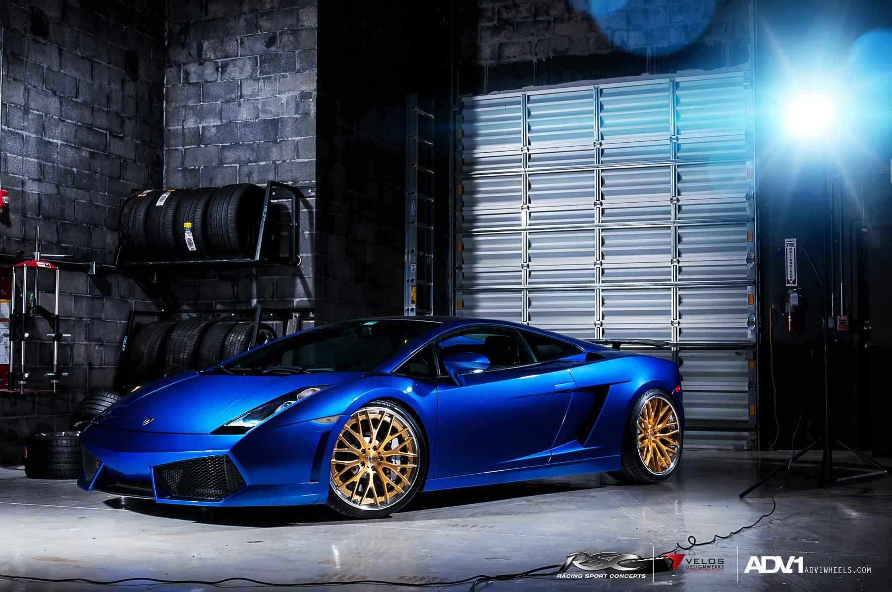 ... ADV.1 Wheels Lamborghini Gallardo ADV10.0TS SL 2 ...