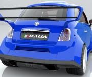Fiat 500 Powered- By Ferrari 4-5 Liter V8 3
