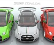 Fiat 500 Powered- By Ferrari 4-5 Liter V8 4