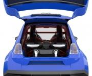 Fiat 500 Powered- By Ferrari 4-5 Liter V8 5