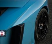 Lamborghini Aventador with HRE RS101 in Satin Black 10