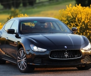Maserati Ghibli With Tyres From Continental 0