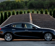 Maserati Ghibli With Tyres From Continental 3