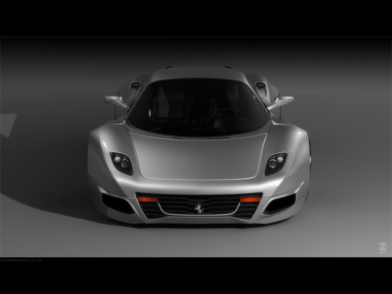 Ferrari F250 Concept Design by Idries Noah