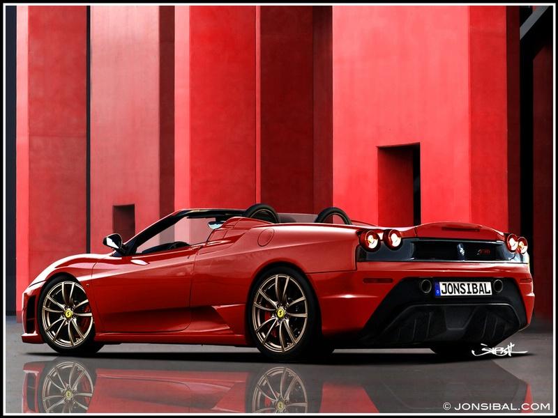 2009 Ferrari F430 Scuderia Spider Renderings