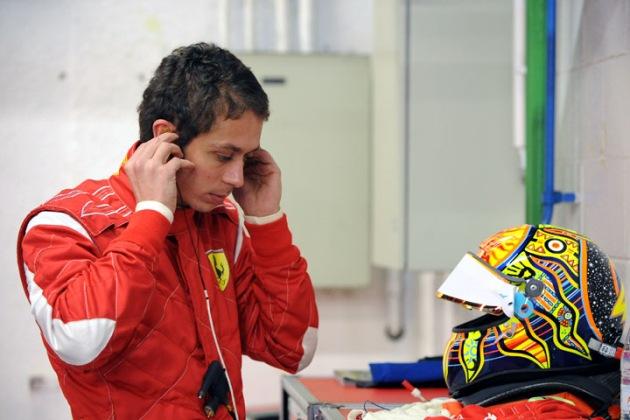 42a012bcb2errari Valentino Rossi takes on Formula One