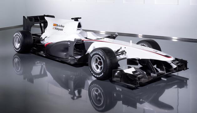 9f5f28b594er c291 Sauber launches a sober C29 for the 2010 F1 season