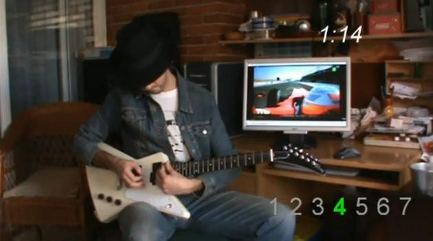 20221b3499guitar Video: A lap with Fernando Alonsos F1 Ferrari   as soundtracked by slide guitar