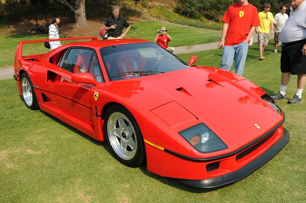 421c9968ddcilead Ferrari F40 reunion planned for 2010 Concorso Italiano