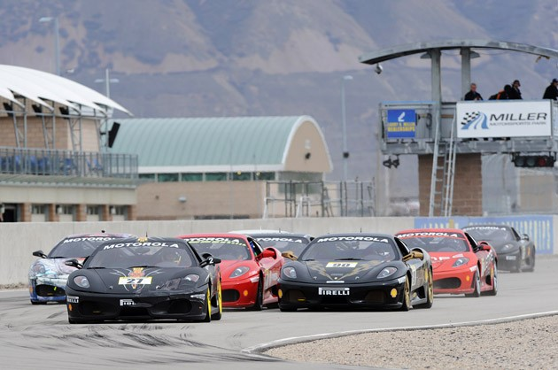 f440ef9bb5mp2010 Ferrari F430 Challenge makes first appearance at Miller Motorsports Park