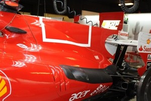 0ef6dbb96b0013sp Nixed! Ferrari removes barcode from F1 cars