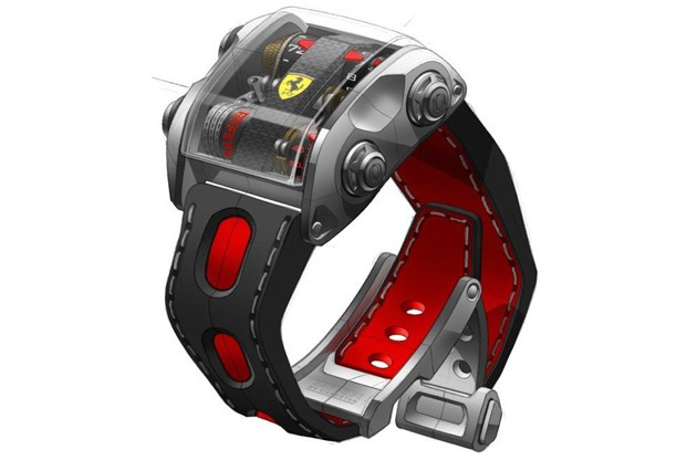 c78b9b822cbestan Scuderia One by Cabestan: Ferrari watch for Ferrari owners   at a Prancing Horse price