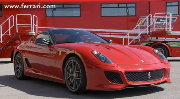 f5d9c34451vidcap Video: Dario Benuzzi laps Mugello in the new Ferrari 599 GTO