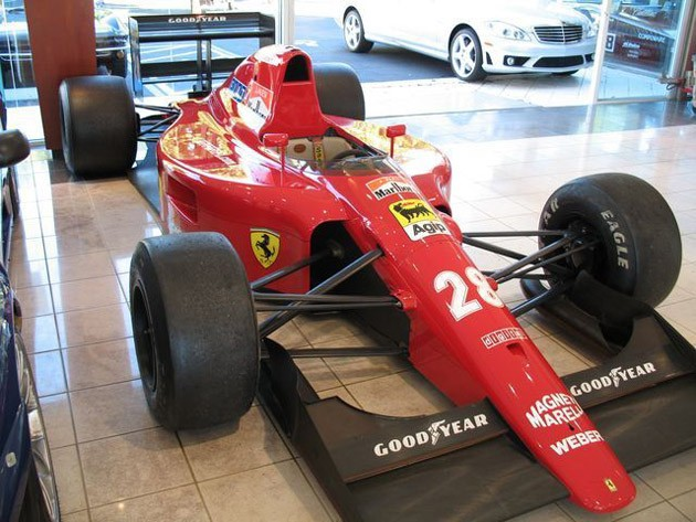 5e7dd0d2b642 ats Find of the Day: Jean Alesis 1991 Scuderia Ferrari 642 [w/video]