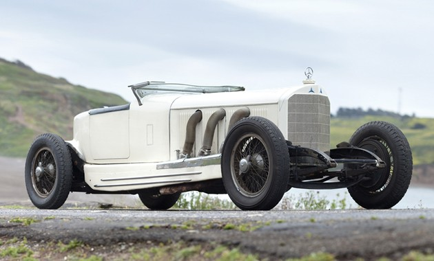 a4421761b8lfront Marx Brothers 1927 Mercedes Benz S Boattail Speedster headed to auction