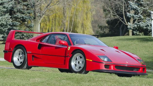 Lee Iacocca's 1991 Ferrari F40