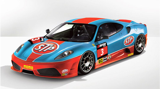 Back on Track: Classic STP livery returns on Ferrari 430 Scuderia GT3