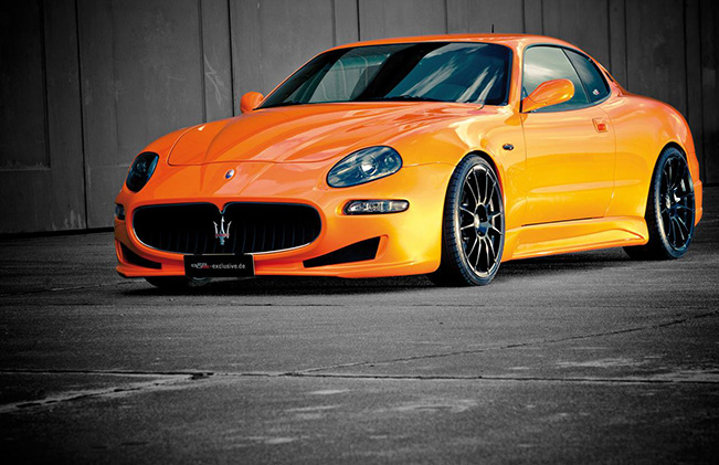 G&S Exclusive Maserati 4200 Evo Dynamic Trident