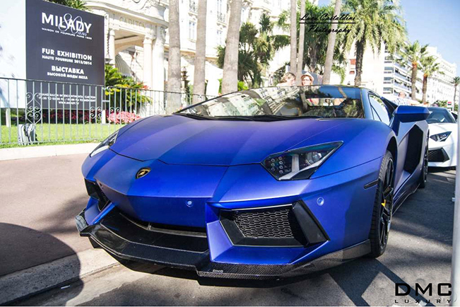 First refined Aventador Roadster world-wide by DMC Luxury