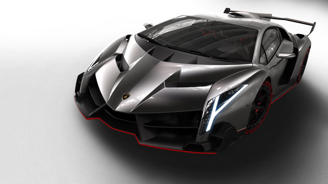 lamborghini veneno 651 Lamborghini to Display its First Ever Prototype Alongside Latest During Pebble Beach Automotive Week