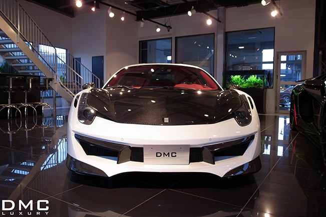 DMC Luxury Ferrari 458 Italia ESTREMO Edizione Front German luxury Refiner DMC is Proud to Announce a New Limited Edition Project: DMC 458 ESTREMO Edizione