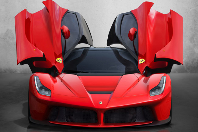 A second hand Ferrari LaFerrari Special Limited - €2.38 million