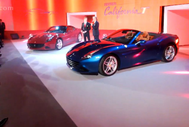 Discovering Ferrari California T with Google Glass
