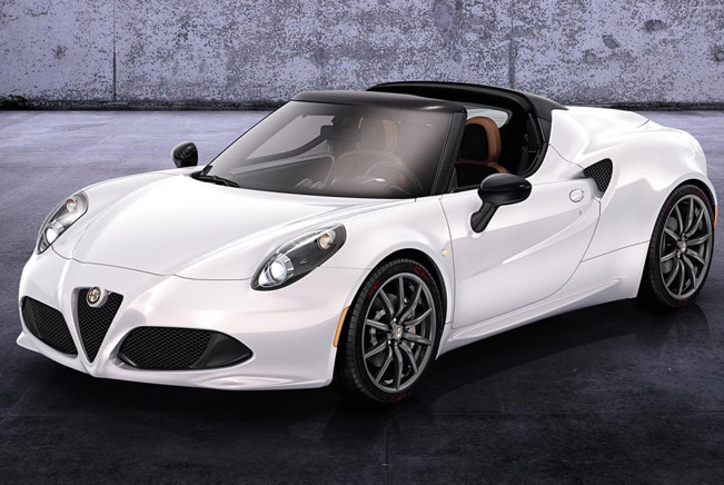 2015  Alfa Romeo 4C Spider - Simply Impressive [video]