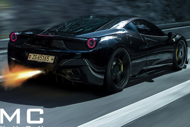 DMC Ferrari 458 Italia Elegante [photo shoot]