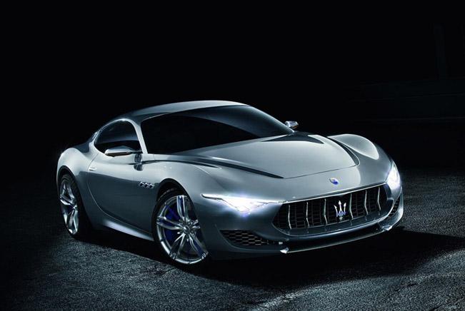 2014 Geneva Мotor Show: Maserati Alfieri