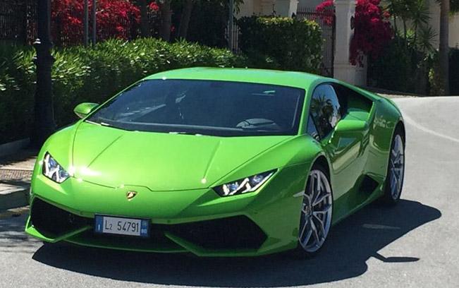 Lamborghini Huracan Verde Mantis