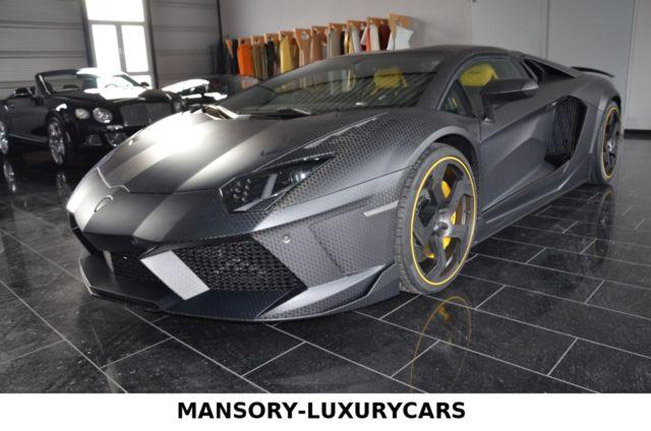 Mansory Carbonado Roadster based on Lamborghini Aventador