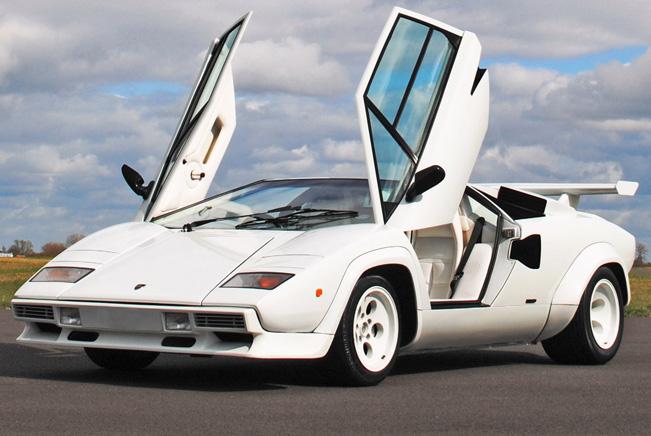 1982 Lamborghini Countach At Auction