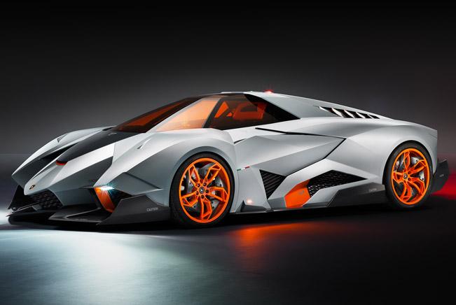 Lamborghini Egoista at Brand's Museum