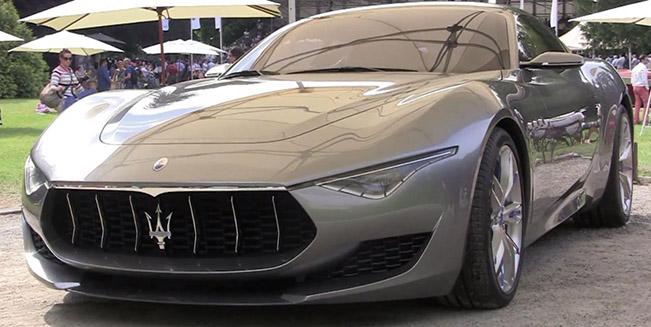Maserati Alfieri Concept [video]