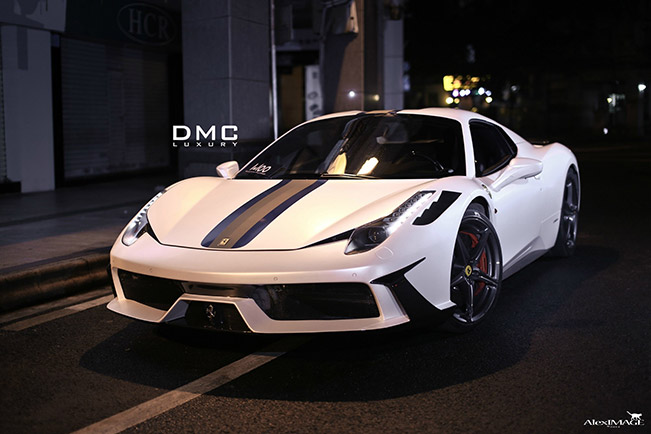 DMC Ferrari 458 Italia MCC Edition 2014 wallpaper 2014 DMC Ferrari 458 Italia MCC Edition