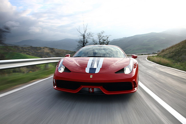 Ferrari 458 Speciale Goodwood Debut 2014 Front Two New Ferraris Debut at The 2014 Goodwood Festival of Speed