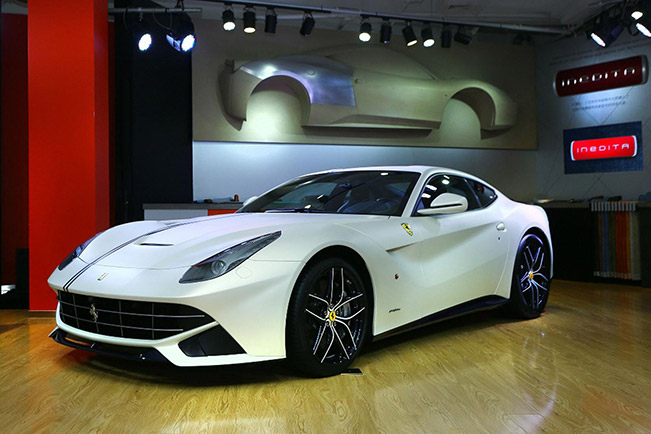 Ferrari F12 Berlinetta Polo and FF Dressage Editions Front Angle Ferrari F12 Berlinetta Polo and FF Dressage Editions