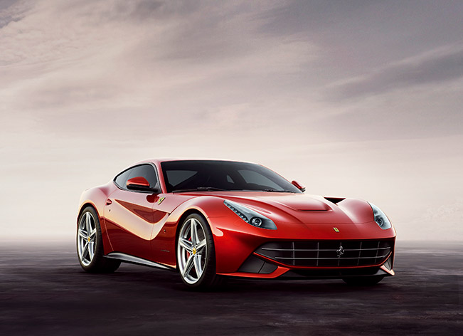 The Ferrari F12 Berlinetta wins the ADI Compasso d'Oro Award for Design